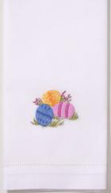 Easter Eggs Hand Towel