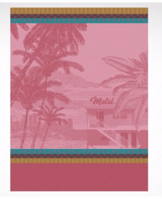 TEA TOWEL VOYAGE EN CALIFORNIE CANDY