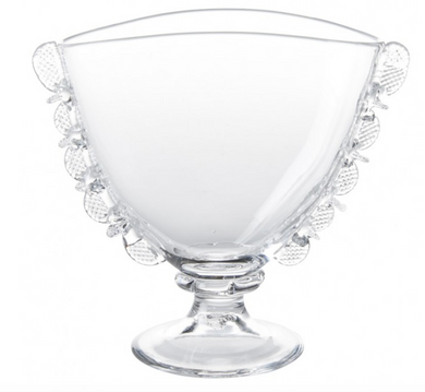 Harriet Fan Vase - Clear