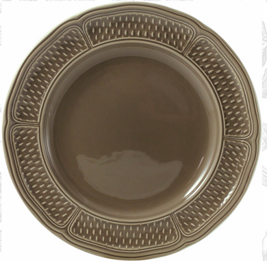 PONT AUX CHOUX Taupe Dinner Plate