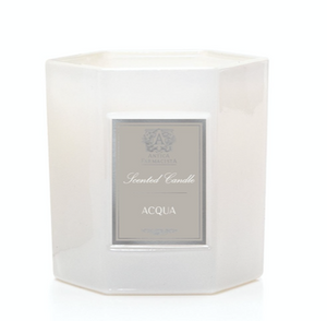 Hexagonal Candle Acqua