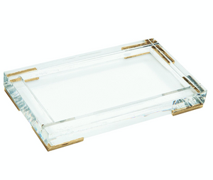 Lucite Bath and Body Tray
