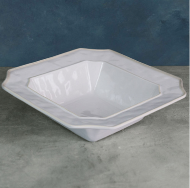 VIDA Charleston Large White Bowl - LARGE