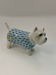 West Highland Terrier - Turquoise