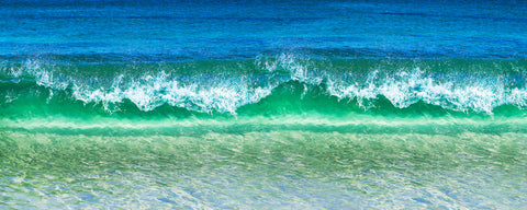 crystal wave at Cottesloe beach