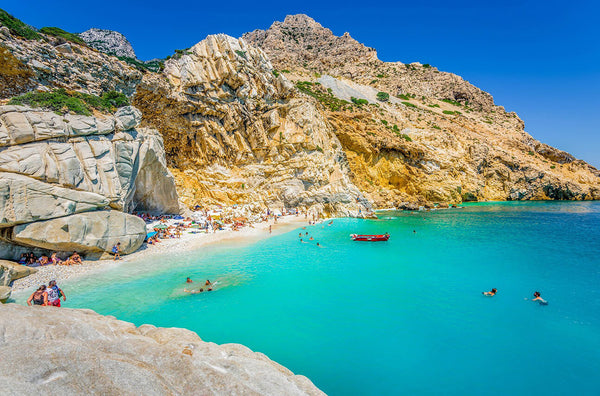 beach ikaria island greece 5 blue zones blog seahorse silks