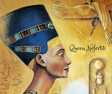 queen nefertiti conical headdress