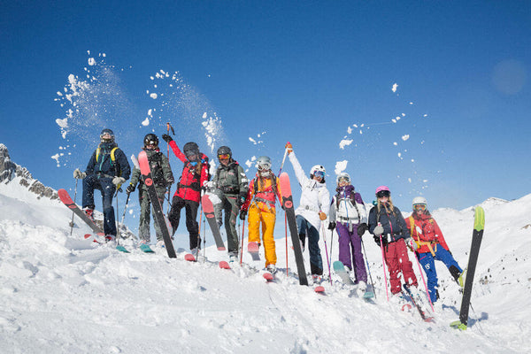 snow skiing how to keep warm blog by seahorse silks