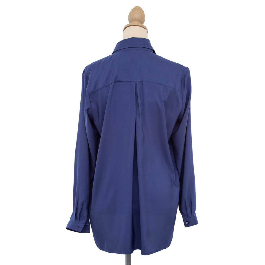 blueberry manhatten long sleeve shirt by seahorse silks back
