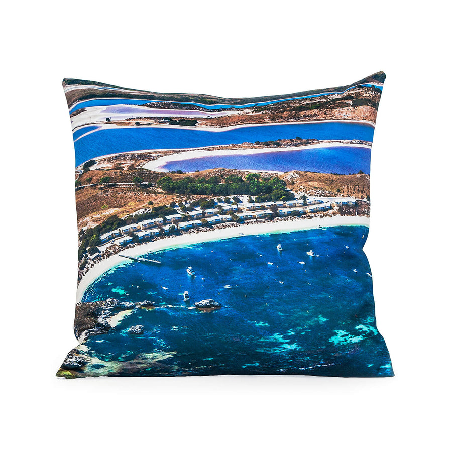 front over geordie photo cushion by seahorse silks
