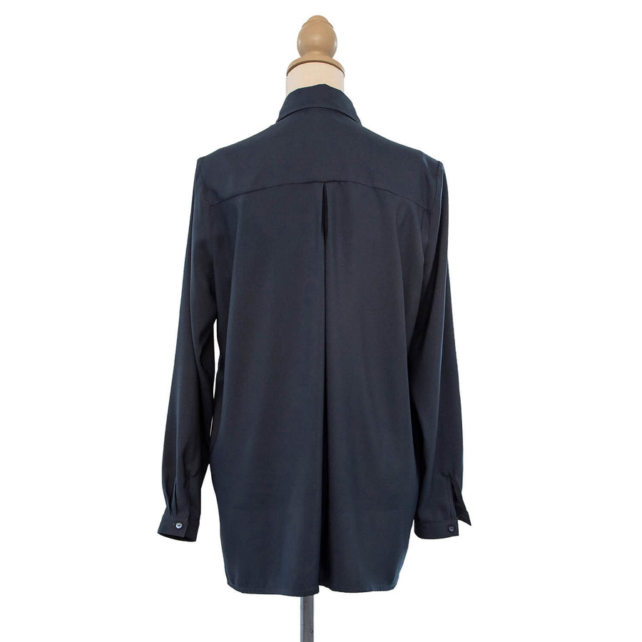 back midnight manhatten shirt by seahorse silks