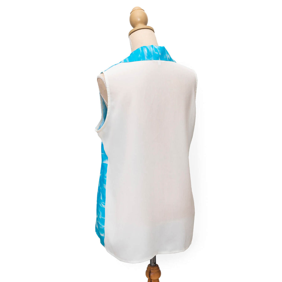 back ningaloo sleeveless shirt by seahorse silks