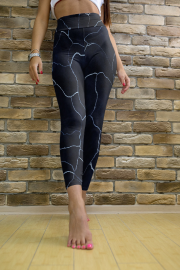 Thunder leggings, Capris and Shorts - The Foxtrot Clothing