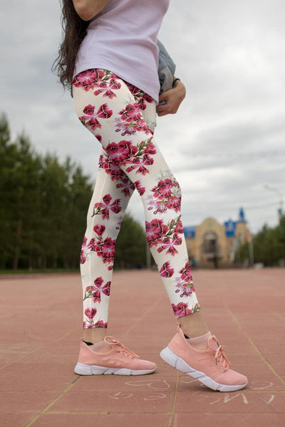 Floral Printed leggings, Capris and Shorts - The Foxtrot Clothing