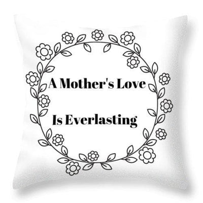 A Mother's Love - Throw Pillow - The Foxtrot Clothing
