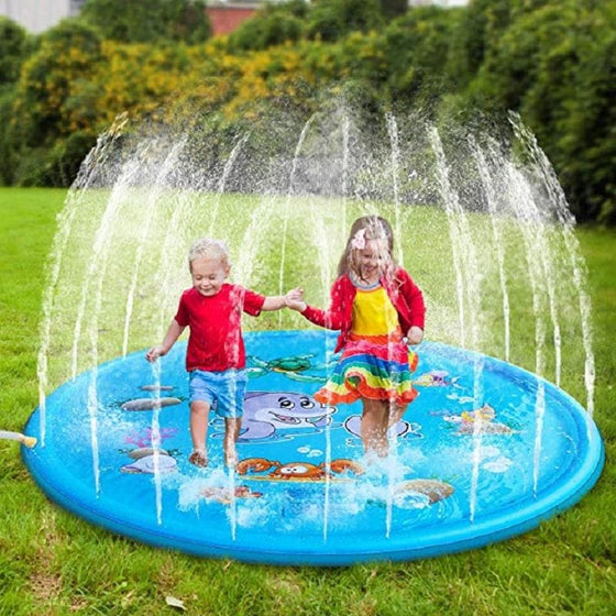100 CM Summer Children's Baby Play Water Mat Games - The Foxtrot Clothing