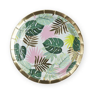 Monstera Appetizer Plate - The Foxtrot Clothing