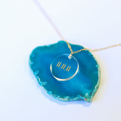 Custom Meridian Necklace- The Foxtrot Clothing - The Foxtrot Clothing
