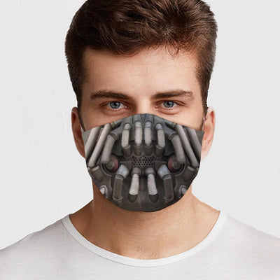 Bane Face Cover Mask - The Foxtrot Clothing
