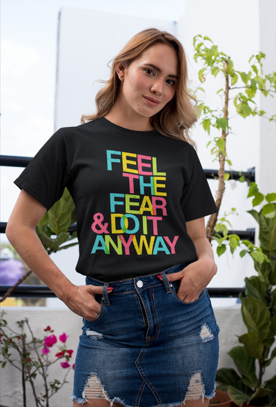 Feel The Fear Women T-shirt - The Foxtrot Clothing