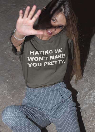 Hating Me Women T-shirt- The Foxtrot Clothing - The Foxtrot Clothing