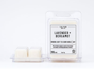 Lavender + Bergamot Wax Melt - The Foxtrot Clothing