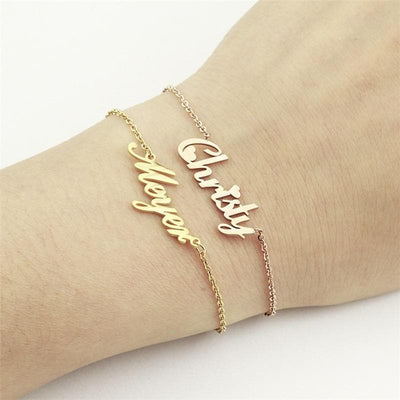 Personalized Charm Custom Bracelet for Women -The Foxtrot Clothing - The Foxtrot Clothing