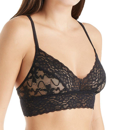 Semisheer Lace Bralette - The Foxtrot Clothing