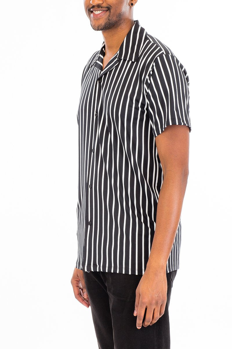 pin stripe men's shirt