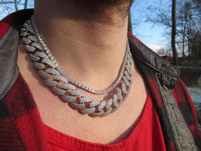 STALLION 18 MM Cuban Chain | The Foxtrot Clothing - The Foxtrot Clothing