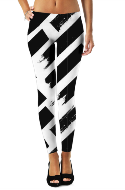 Abstract Pattren (28) Legging - The Foxtrot Clothing