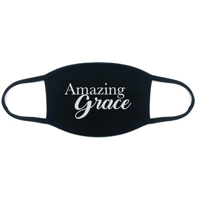 AMAZING GRACE 100% COTTON FACE MASK - The Foxtrot Clothing