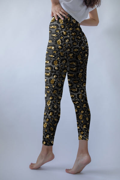 Animal Print leggings, Capris and Shorts - The Foxtrot Clothing