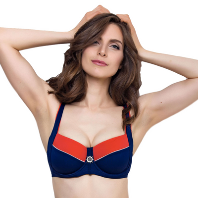 Plus Size Bikini Top Lauma Swim Regatta-The Foxtrot Clothing - The Foxtrot Clothing