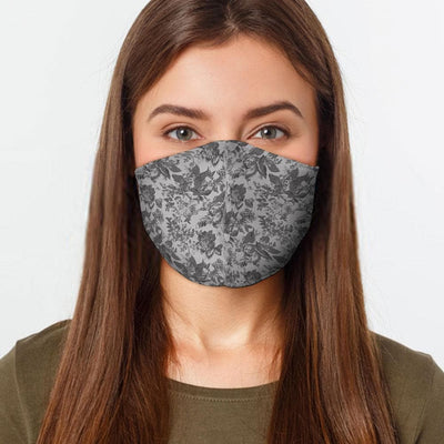 Flower Lace Face Cover - The Foxtrot Clothing
