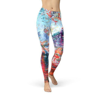 Jean Athletic Colorful Painted Wall - The Foxtrot Clothing