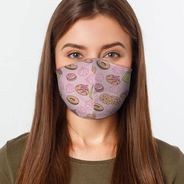 CUPCAKES FACE COVER