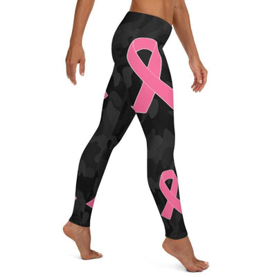 Cancer Awareness leggings, Capris and Shorts - The Foxtrot Clothing