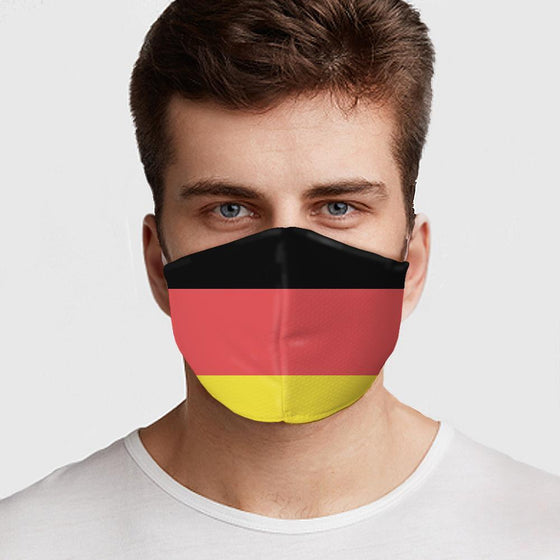 German Flag Face Cover - The Foxtrot Clothing