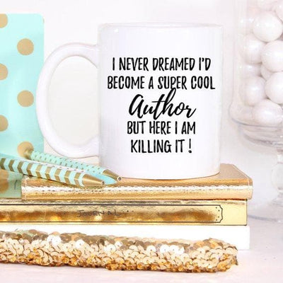 Author Gifts, Author Mug, Writer Gift, Writer Mug, - The Foxtrot Clothing