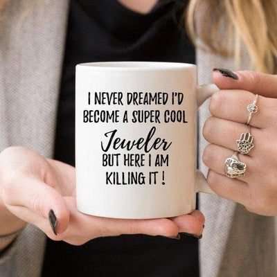 Jeweler Gifts, Jeweler Mug, Gift For Jeweler, - The Foxtrot Clothing