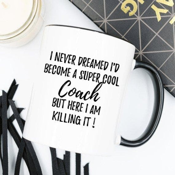 Coach Mug, Coach Gift, Gift For Coach, - The Foxtrot Clothing