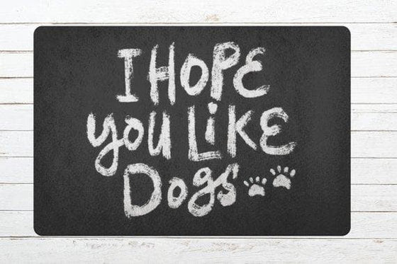Dog Lover Gift Doormat Door mat Welcome Mat - The Foxtrot Clothing