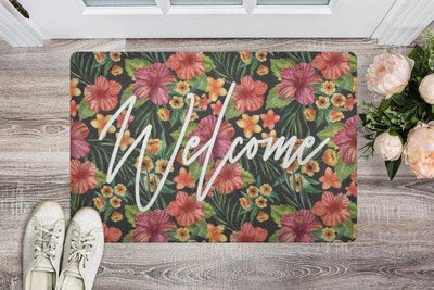 Door mat Doormat Welcome Mat Housewarming Gift - The Foxtrot Clothing