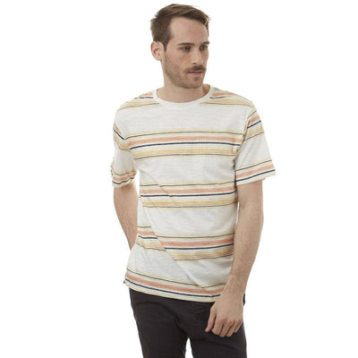 Russel Striped Tee - The Foxtrot Clothing