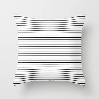 Minimal Stripes Pillow- The Foxtrot Clothing - The Foxtrot Clothing