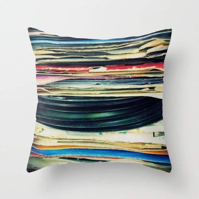 Put your records on Pillow- The Foxtrot Clothing - The Foxtrot Clothing