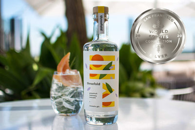 Our Aromatic Gin WON Silver at the San Fran World Spirits Comp!