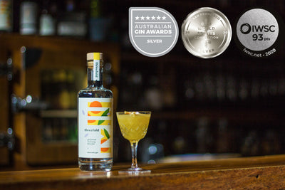 Threefold Aromatic Gin awarded 3 x Silver medals!