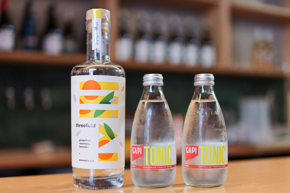 Threefold Aromatic Gin + CAPI Tonic Pack